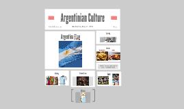 Argentinian Culture