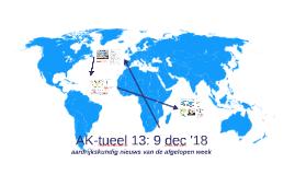 AK-tueel 13: 9 december '18