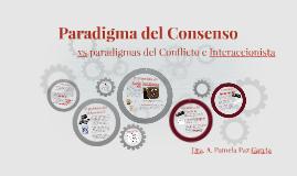 Paradigma del Consenso