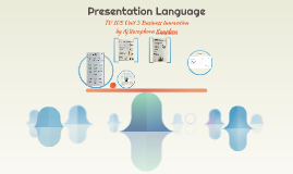 TU 105 U.3 Presentation Language