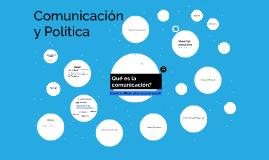Comunicacion y politica