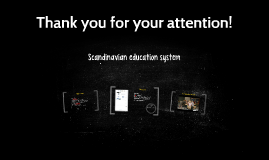 Scandinavian education system