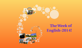 The Week of English 2014!