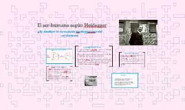 El ser-humano según Heidegger