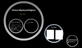 Roman Mystery Religions