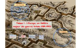 3H1 1914-1918 Civils et militaires dans la 1GM