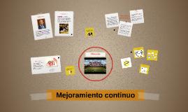 Copy of Mejoramiento continuo