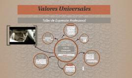 Valores Universales