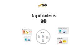 Rapport d'activités 2016 USS