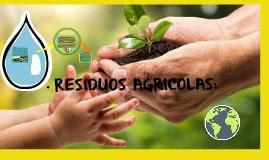 residuos agricolas: