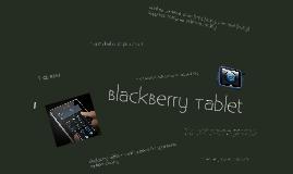 Copy of BlackBerry Tablet