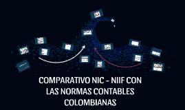 COMPARATIVO NIC - NIIF CON