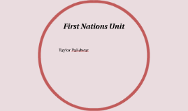 First Nations Unit
