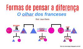 Formas de pensar a diferença: o olhar dos franceses