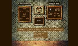 Copy of Auditoria  Gubernamental y el Dictamen del Auditor
