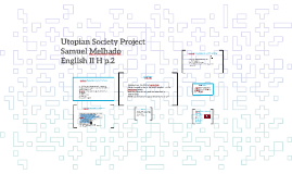 Utopian Society Project