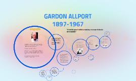GARDON ALLPORT