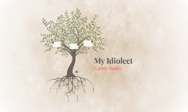 My Idiolect