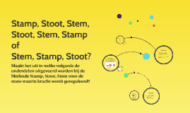 Stamp, Stoot, Stem,