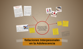 Relaciones Interpesonales en la Adolescencia