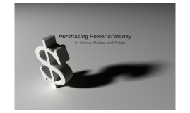 Purchasing Power of Money