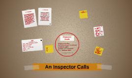 An Inspector Calls - Inspector Goole
