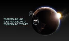 Copy of Copy of TEOREMA DE LOS EJES PARALELOS O TEOREMA DE STEINER