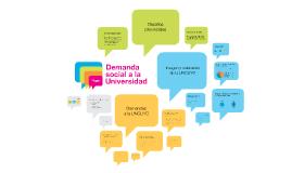 Presentación: Demanda social a la Universidad