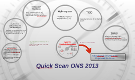 Quick Scan ONS 2013