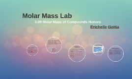 Copy of 3.09 Molar Mass of Compounds Honors