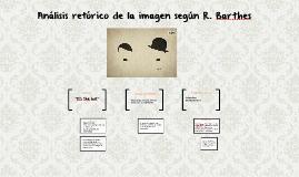 Análisis de la imagen según R. Barthes