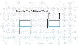 Research - The Publishing World