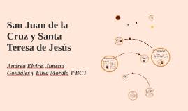 Copy of San Juan de la Cruz, Santa Teresa de Jesús.