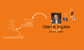 Charlie Higson - Book Presentation