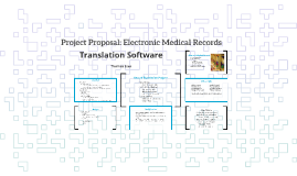 Project Proposal: Electronic Medical Records
