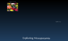 Exploring Mesopotamia