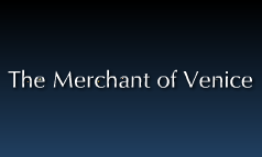 English-The Merchant of Venice