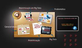 Segurança e Anonimização em Big Data