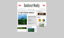 Rainforest Weekly