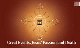 Jesus' Final Days