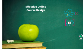 Effective Online Course Design
