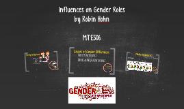 Influences on Gender Roles
