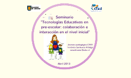 Copy of Explorando escenarios de aprendizaje colaborativos e interactivos: E- Blocks