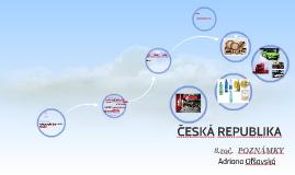 ČESKÁ REPUBLIKA, časť poznámok