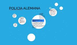 POLICIA ALEMANA.