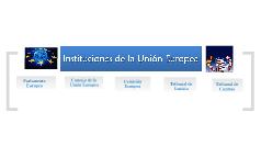 Instituciones de la UE