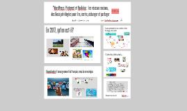 WordPress, Pinterest et YouTube : les réseaux sociaux, des lieux privilégiés pour lire, écrire, échanger et partager