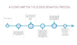 Flowchart On The Blood Donation Process by Leia Salter on Prezi