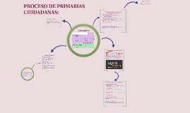 Copy of Podemos: Primarias abiertas de la ciudadanía