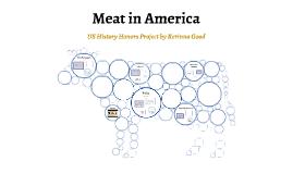 Meat in America